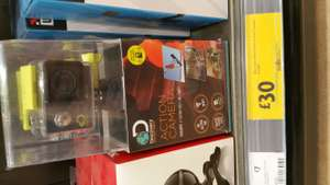 Discovery adventures 4k action camera £30 @ morrisons