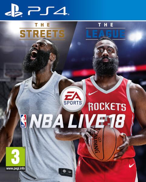 NBA Live 18 PS4 £22.99 @ Zavvi