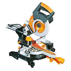 EVOLUTION RAGE3-S 210MM SINGLE-BEVEL SLIDING COMPOUND MITRE SAW 240V £89.99 @ Screwfix
