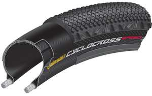 Pair of Continental Cyclocross Speed 700c Folding Tyre £27.93 delivered @planet x but potentially £21.58 (read post)