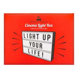 Light up box was £36.00 now £7.50 Superdrug
