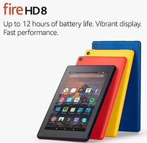 "Used warehouse deal Fire HD 8 Tablet with Alexa, 8"" HD Display, 32 GB £55.99 @ Amazon Warehouse"