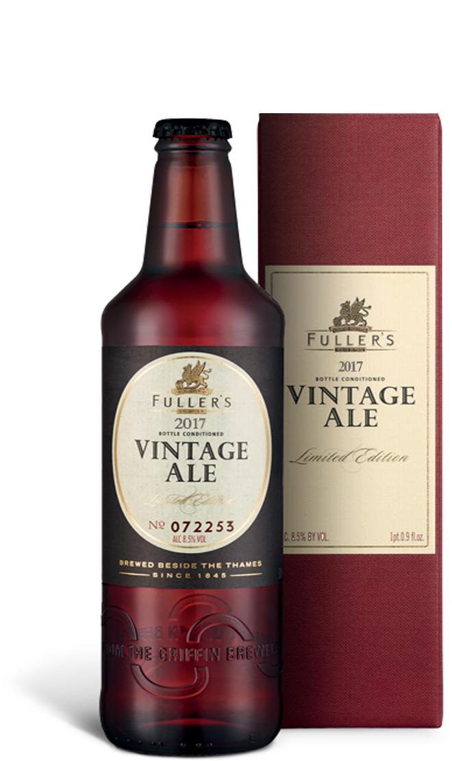 Fuller's Vintage Ale 2017 3 for £5 @ Booths (instore)