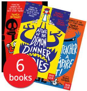 6 x pamela butchart kids books £12.79 @ thebookpeopleonline ebay