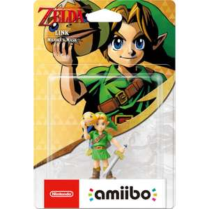 Link (Majora's Mask) amiibo (The Legend of Zelda Collection) back in stock £10.99 + £1.99 delivery @ Nintendo