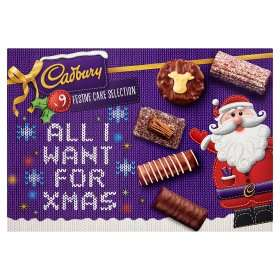 Cadbury 9 Festive Cake Selection £2.00 @ Asda