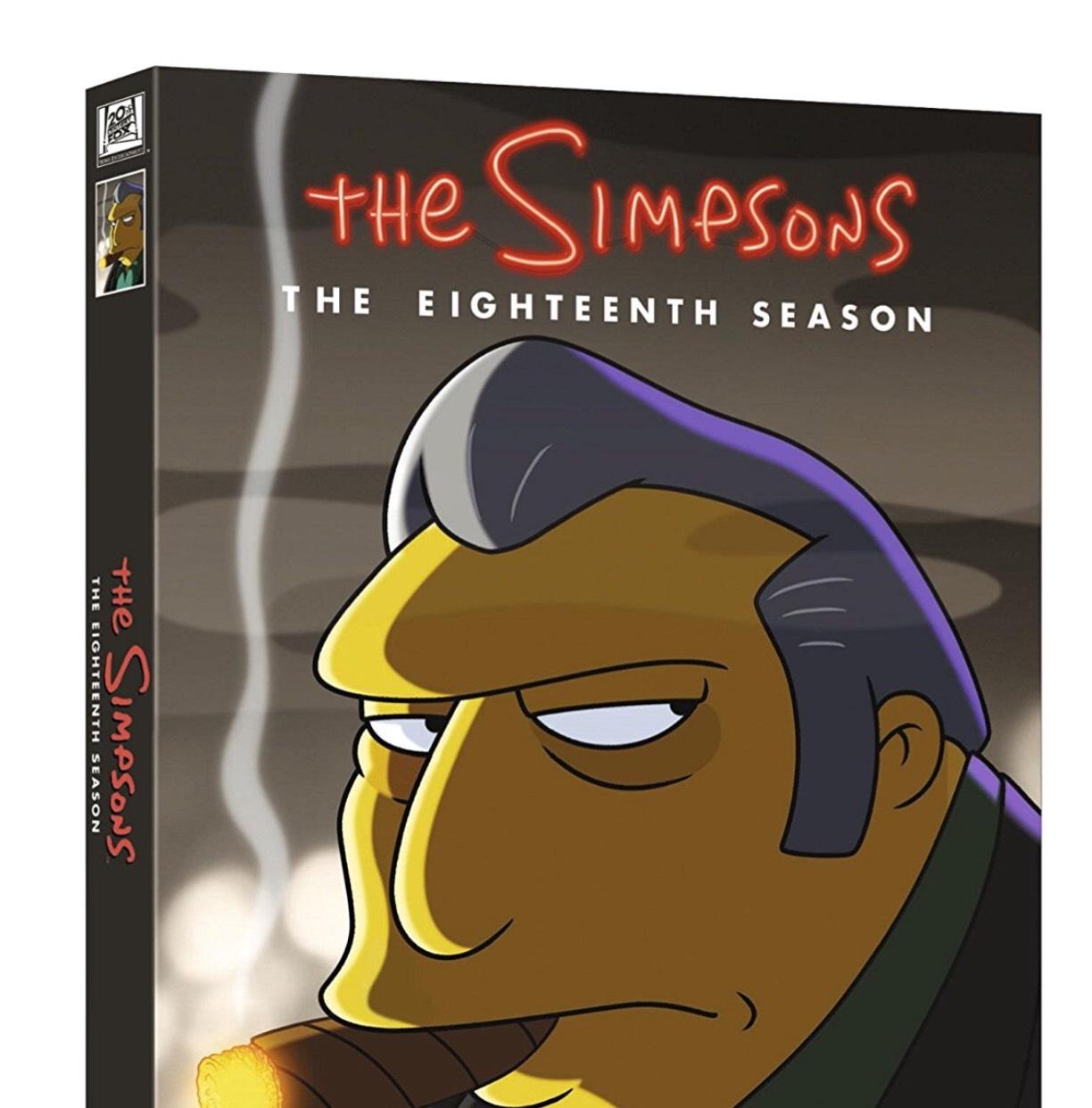 The Simpsons Complete Season 18 £18 (Prime) (£19.99 non prime) @ Amazon