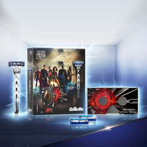Gillette Mach 3 turbo Justice League Gift Set With VR headset £4.99 @ Home Bargains