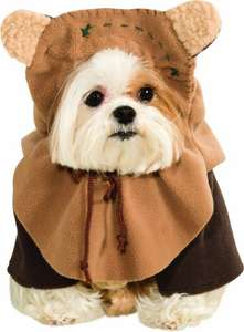 XL Rubie's Official Star Wars Ewok Pet Dog Costume Extra Large £2.95 @ Amazon Add-On Item