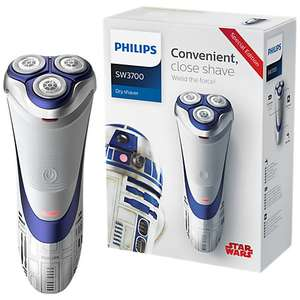 R2D2 Philips Shaver £39.99 down from £120 according to Camel Camel Posted Deal 4 Boots + 13% Quidco although not sure how this works if using Philips Voucher Code on Philips website may forfeit it