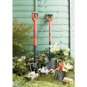 Sovereign Garden Tools from 25p @ Homebase (Hand Trowel 25p / Carbon Steel Shovel or Digging Fork £2)