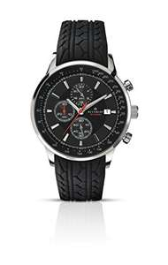 Accurist Men's Watch with Black Dial Chronograph Black Rubber Strap 7001.01 Delivered Amazon - £49.90
