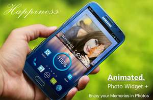 Animated Photo Widget + FREE @ Google Play Store