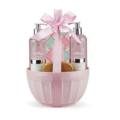 Winter In Venice - Pink lemonade mixing bowl Bath gift set @Debenhams now £20