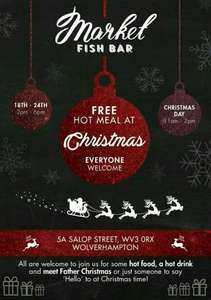 Free meal everyday market fish bar wolverhapmton
