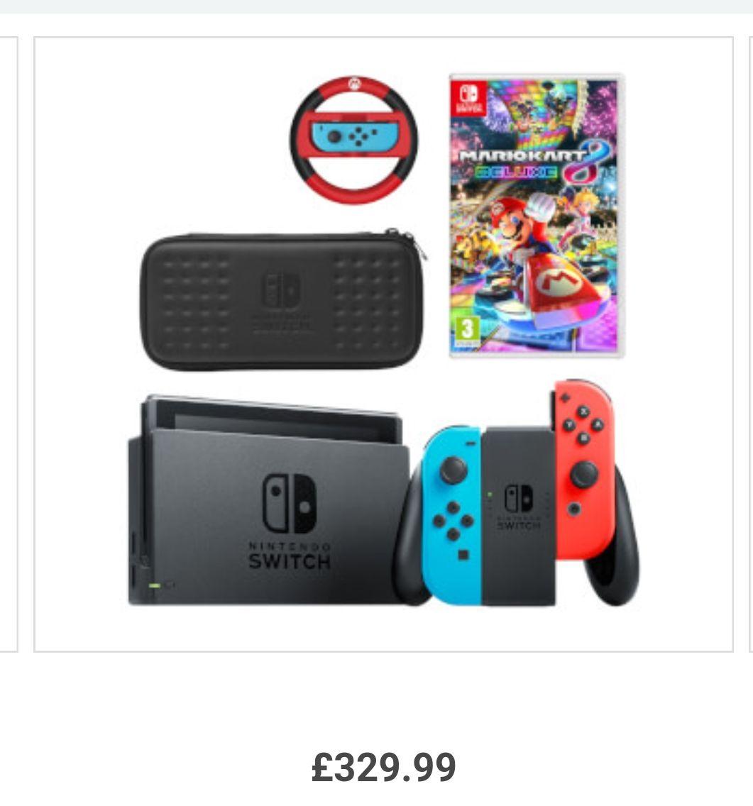Super Mario  with extras. £329.99 @ Nintendo
