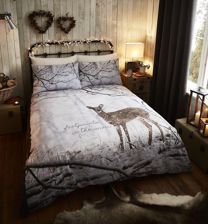 Catherine Landsfield Christmas deer bedding kingsize £14.99 Prime @ Amazon
