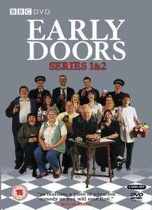 Early Doors Complete Series 1&2 only £8 Amazon Prime/£9.99 Standard.