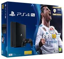 PS4 Pro 1TB FIFA 18 + GT Sport + Fallout 4 + Doom + Dishonored 2 Limited Edition + Knowledge is Power, Hidden Agenda, Singstar Celebration + That's You. Shopto £335.30