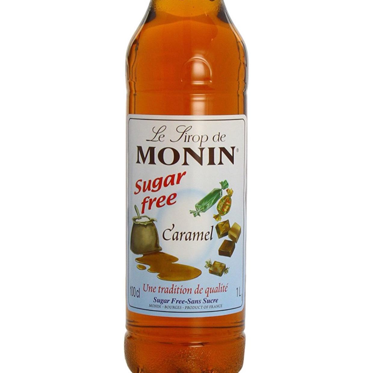 Monin Sugar Free 1ltr Caramel Syrup £8.00 (prime) @ Amazon