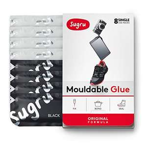 Amazon - Deal of the Day - Sugru - 8 Pack (4 Black,4 White) £5.22 S&S