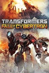 Transformers fall of cybertron £8 @ MSStore