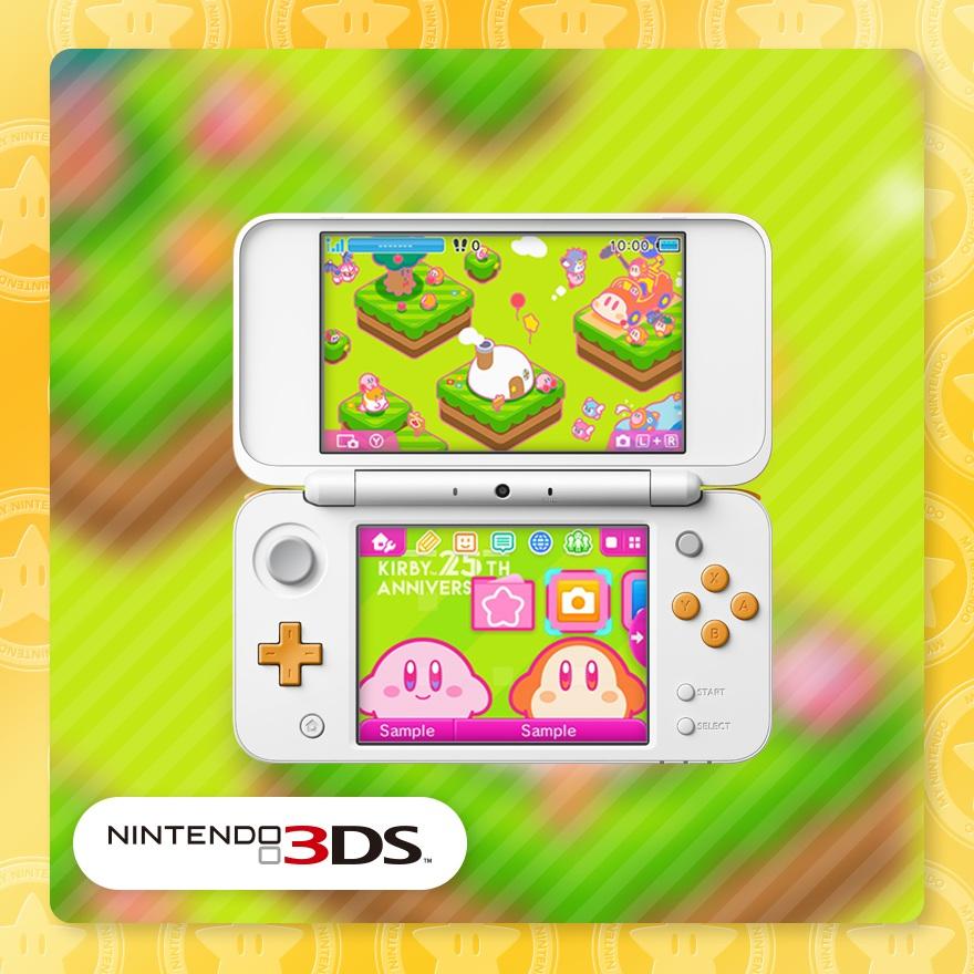 Free nintendo 3ds kirby theme at Nintendoshop
