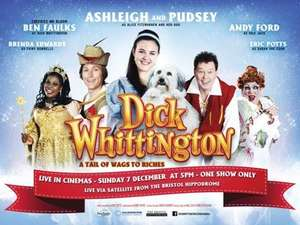 Free tickets to go watch Dick Whittington at the Manchester Opera House (£2 Admin fee)