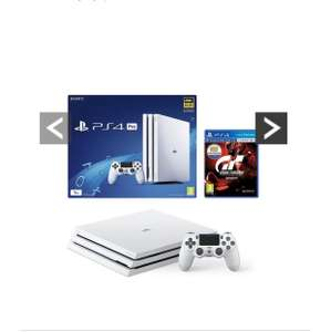 PlayStation 4 Pro Pro 1Tb White Console With Gran Turismo Sport £269.99 - VERY