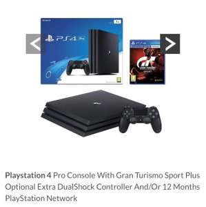 Playstation 4 Pro Console With Gran Turismo £269.99 @ Very