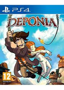 Deponia (PS4) £6.99 Delivered @ Base