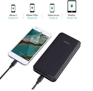 AUKEY USB C Power Bank 20000mAh £25.99 Sold by yueying and Fulfilled by Amazon.