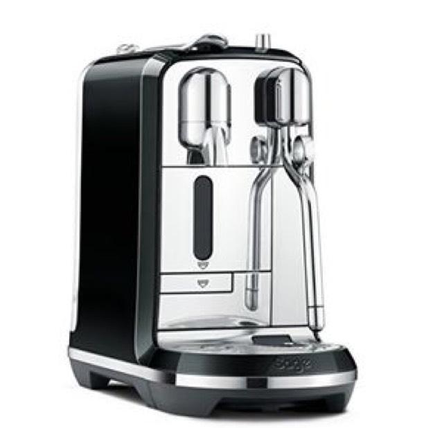 Nespresso Creatista Coffee Machine, Black by Sage £249.99 @ Amazon