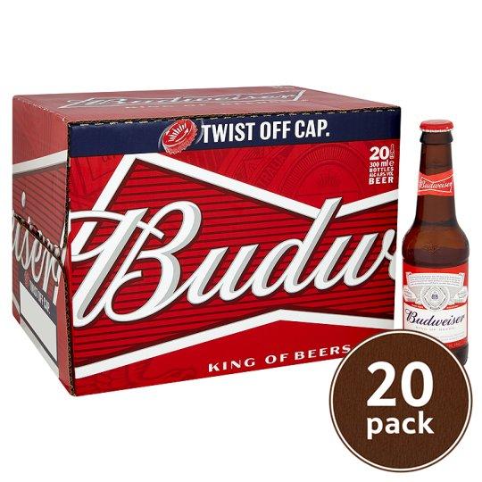 20X300ml Budweiser £9 @ Tesco (instore & online)