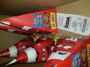 M&M's Christmas Cone Selection Box £1 instore at Asda Was £2