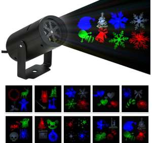 BLOOMWIN Indoor Xmas Projector Lights £4.99 (Prime) / £8.98 (non Prime)  Sold by BLOOMWIN Lighting and Fulfilled by Amazon
