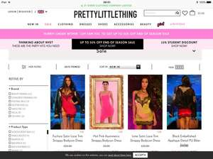 Pretty Little Thing sale up to 50% off for 24 hours only