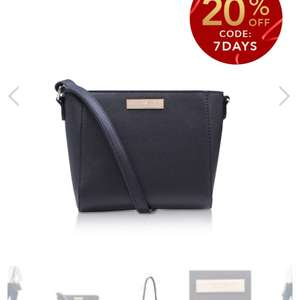 Carvela Ronnie small xbody bag down to £18.00 with code at Shoeaholics