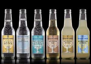 Fever Tree Tonic 500ml (all varieties) 3 for £4 @Tesco