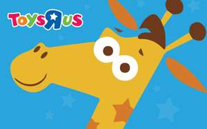 Up to 50% off egift cards at Zeek for ToysRus