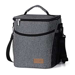 Original Price £29.99 - Lifewit Grey Lunch Bag - Discount Price: £10.98 (Prime) Sold by Lifewit and Fulfilled by Amazon