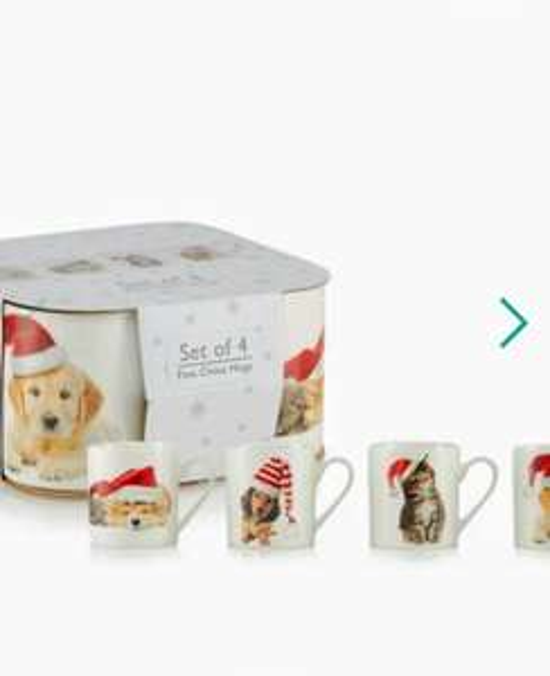 4 pack China Xmas mugs - £9 @ Debenhams