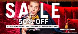 Boohoo Man 50% Off Sale + Free Next Day Delivery with code (code ends 22/12)