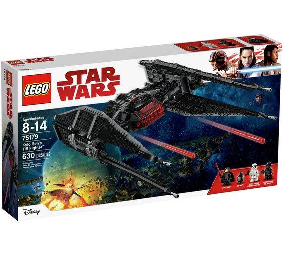 LEGO Stars Wars Kylo Ren's TIE Fighter - 75179 - £74.99 @ Argos.