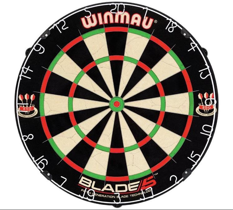 Winmau Blade 5 Bristle Dartboard £21.99 Argos