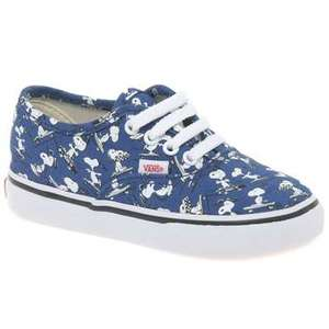 Peanuts Snoopy Toddler canvas shoes now £18 delivered + Other offers on Toddler/kids shoes also @ Charles Clinkard
