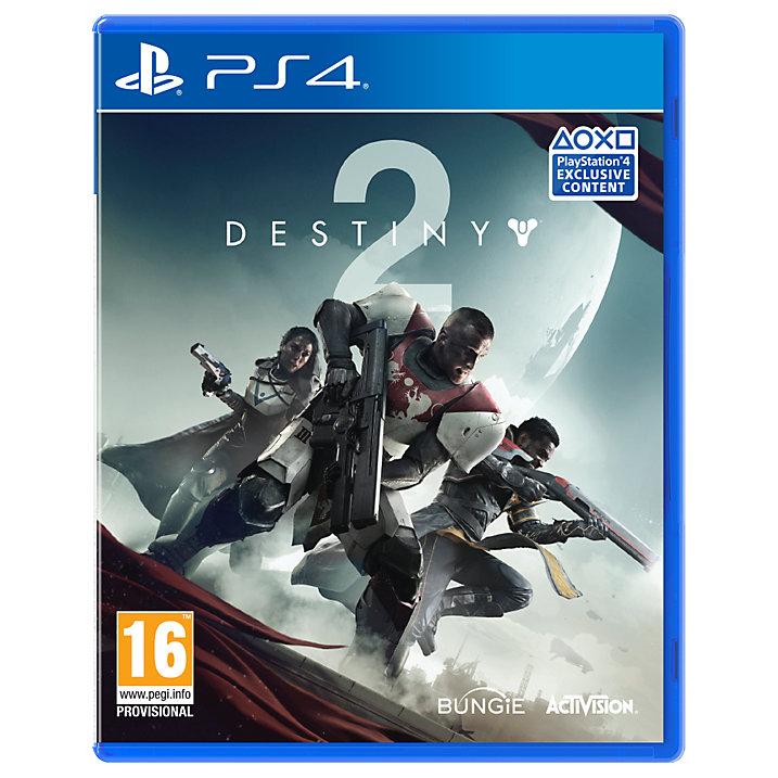 Destiny 2, PS4 £14.99 @ John Lewis (C&C £2)