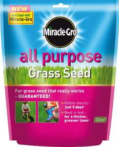 Miracle-Gro All Purpose Grass Seed Bag, 900 g Amazon Add-on - £3.87