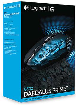 Logitech G302 Prime Gaming Mouse Black MOBA Daedalus £22.99 @ GAME