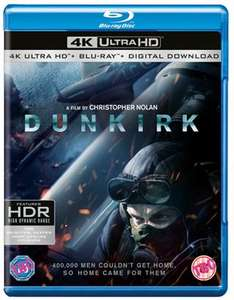 Dunkirk - UHD 4K Blu Ray - Just £16.99 delivered @ Take Time Out